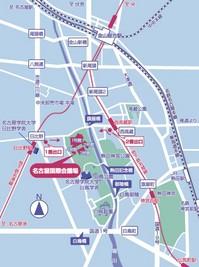名古屋国際会議場地図