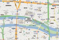 大阪市中央公会堂「大集会室」の地図
